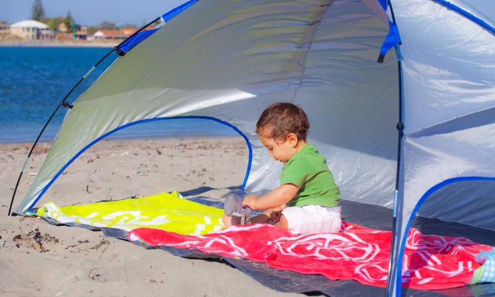 Bringing a Tent to the Beach