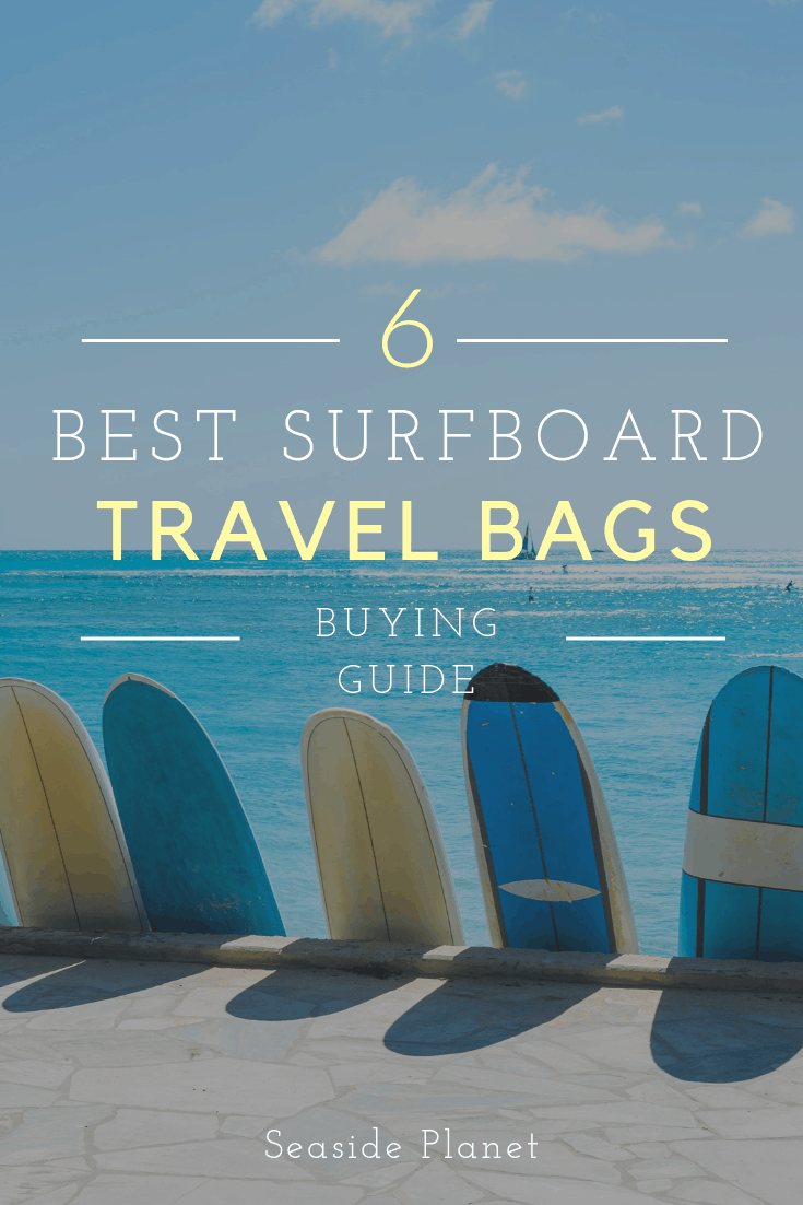 Wondering what the best surfboard travel bag is? Well wonder no more because we\'ve got the answer. Click here to find out the answer! #Surfing #SurfingDestinations