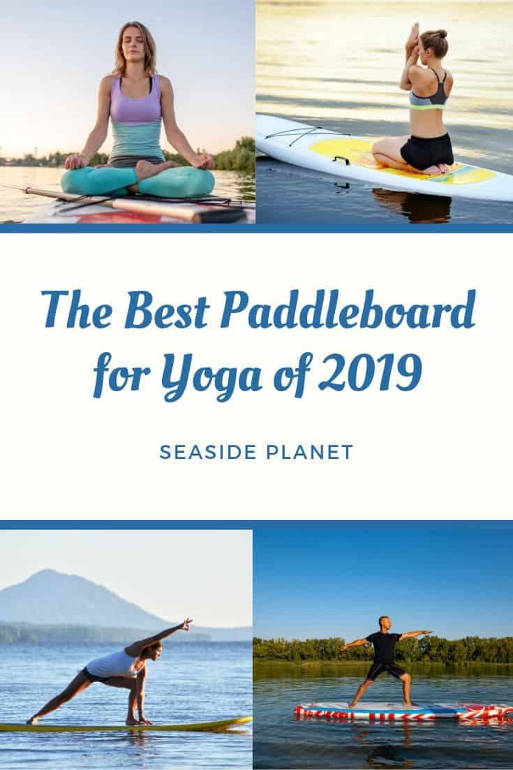 Paddleboarding is great exercise and combining it with yoga is a wonderful way to push your body and free your mind. But if you\'re going to do it right you\'re going to need the right board. #BeachLife #Beach #Paddleboard #Yoga