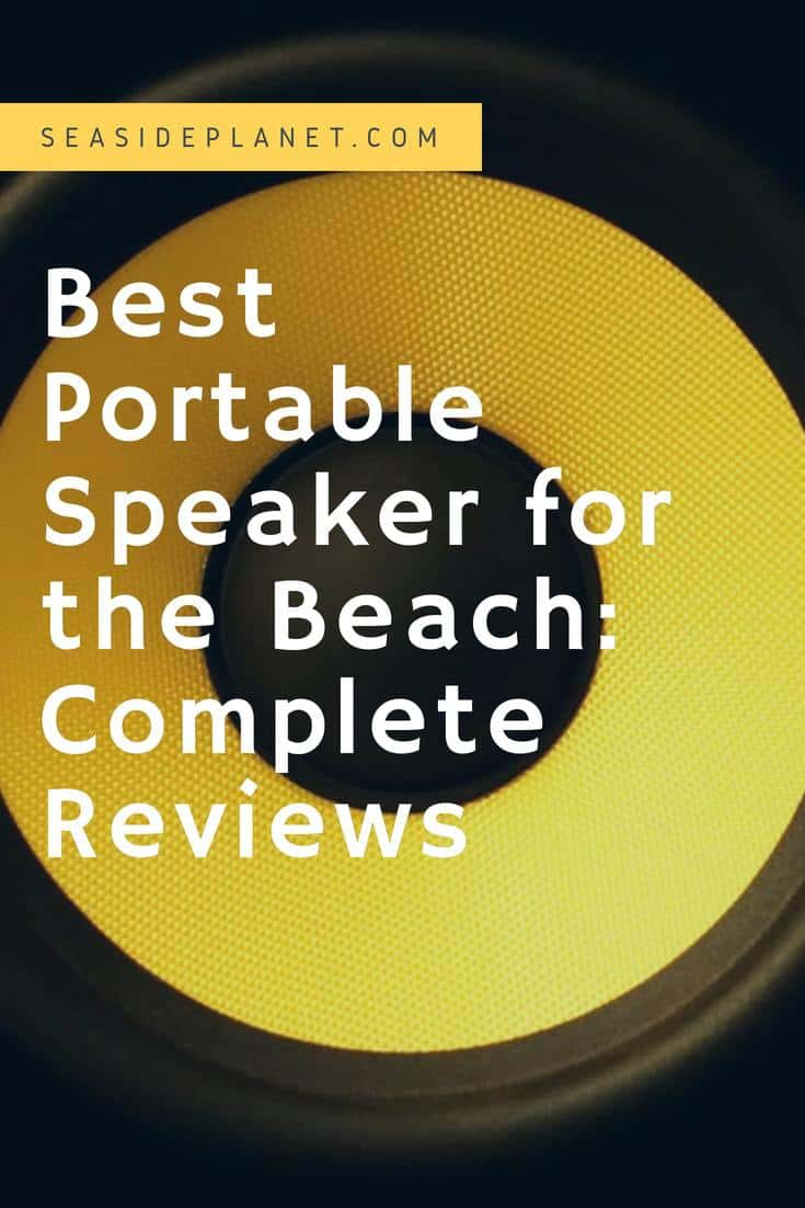 The Best Portable Speaker for the Beach of 2019