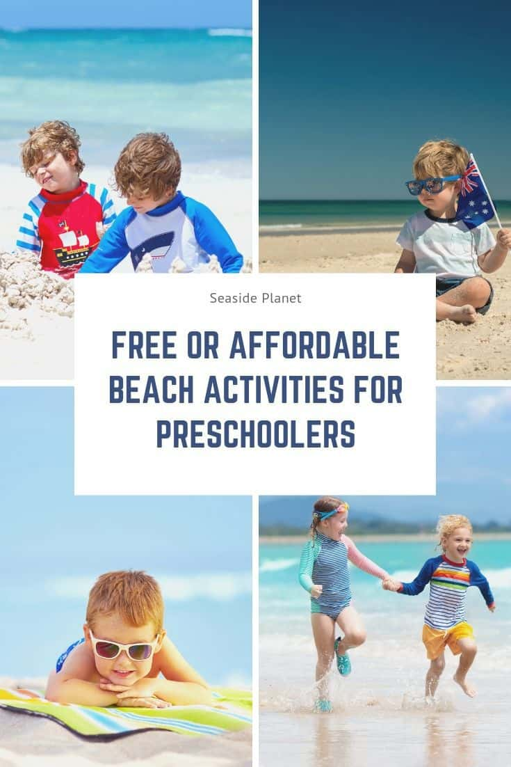 Free or Affordable Beach Activities for Preschoolers
