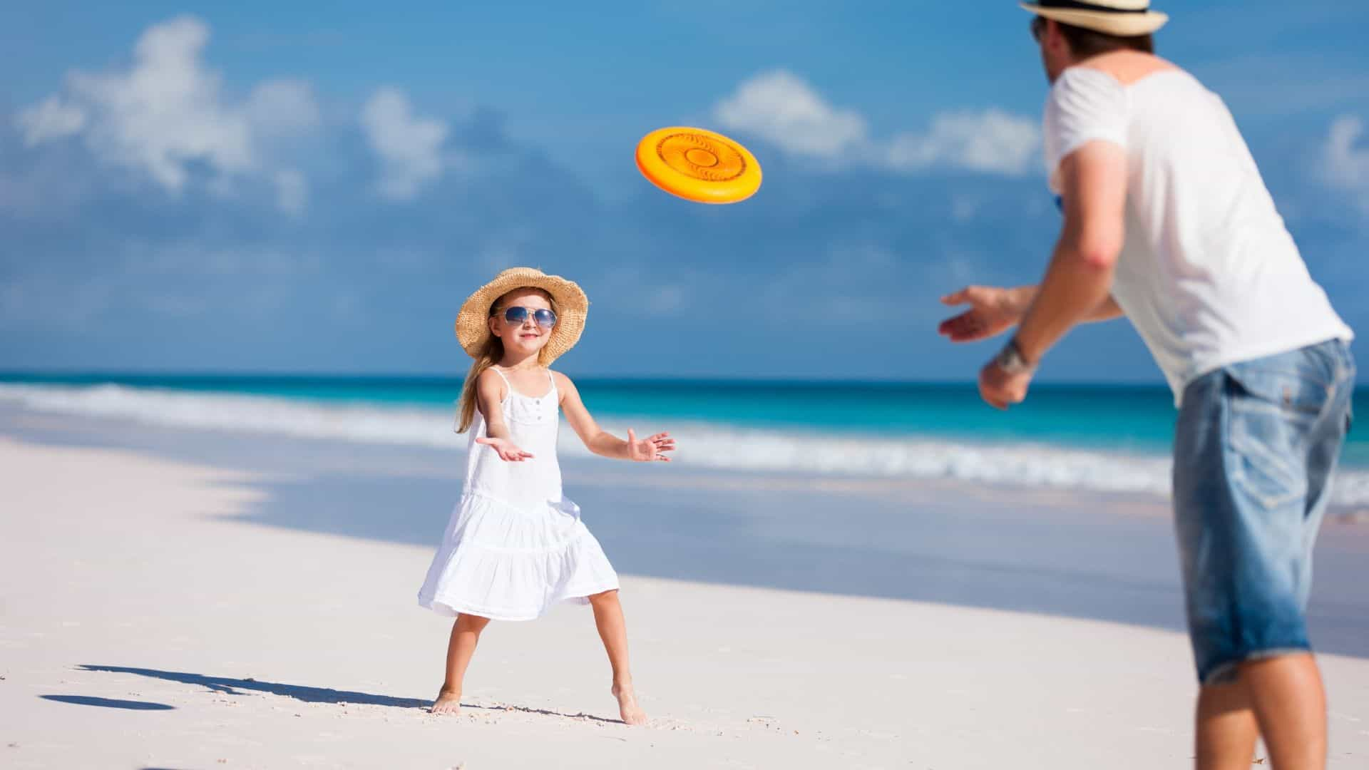 frisbees for the beach