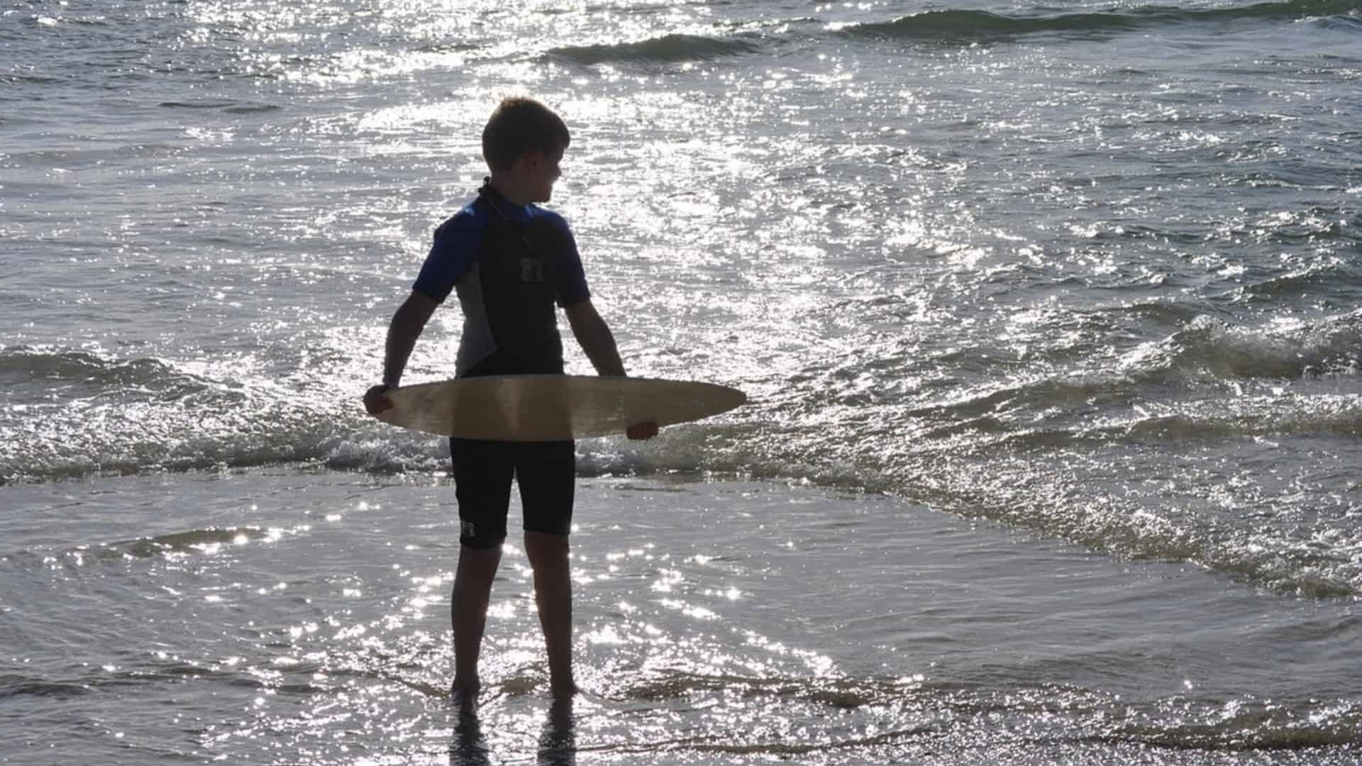 starting out skimboarding