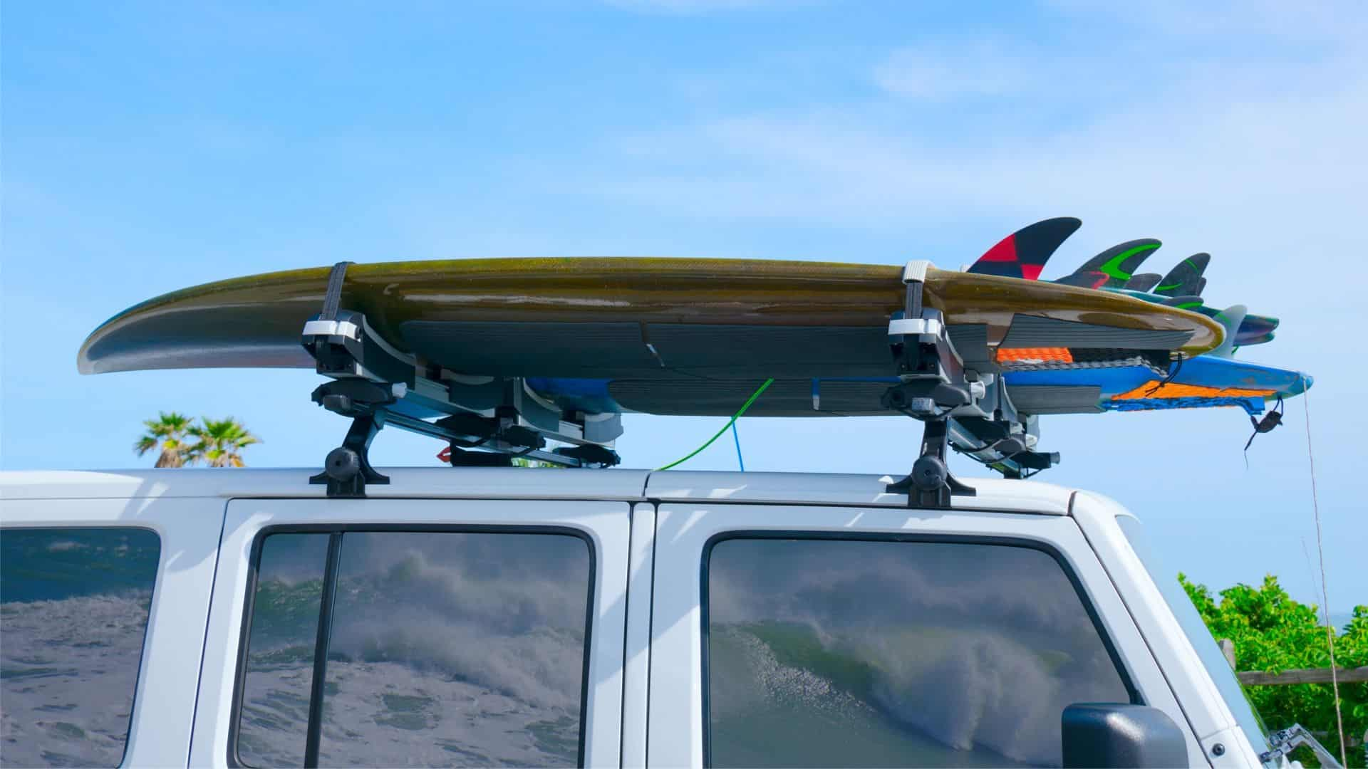 best surfboard racks for suvs
