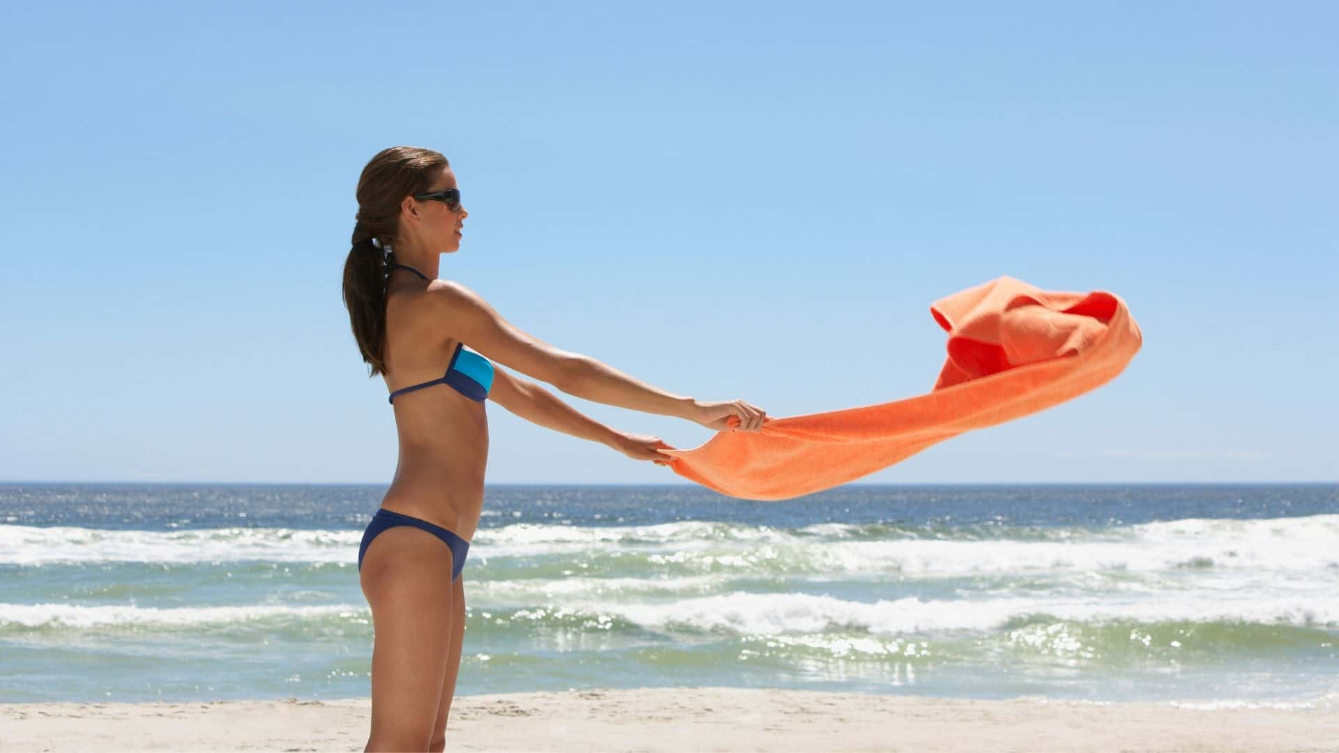 towel that repels sand
