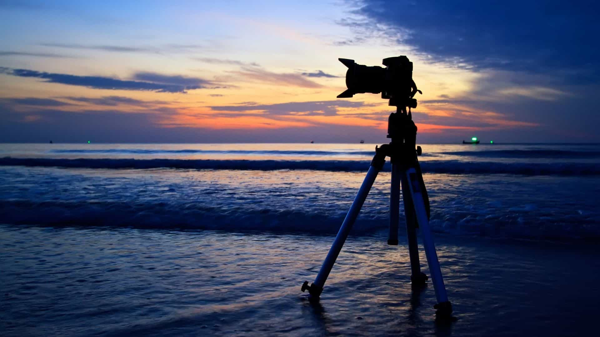 tripod for beach photography