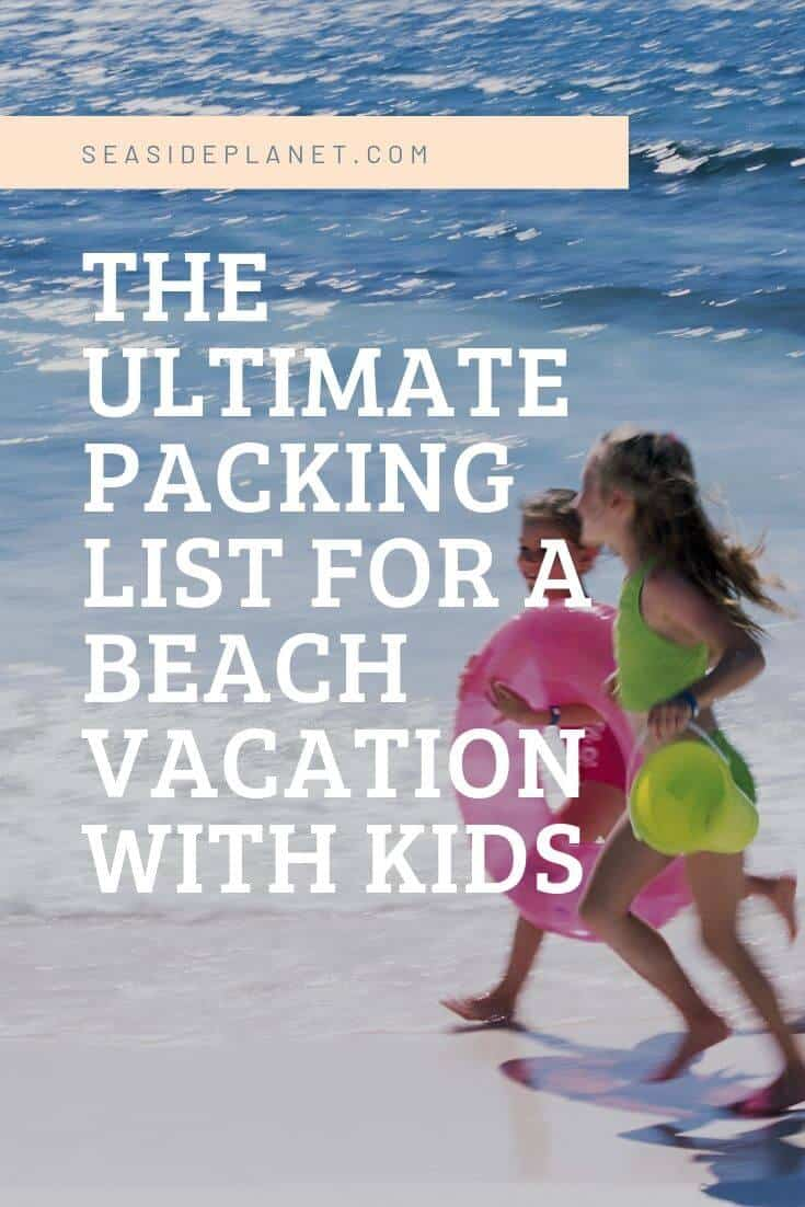 Everyone loves to go to the beach, but I guarantee that until you have packed for a trip with the kids, you had no idea everything that you might need. #BeachLife #Beach #Vacation