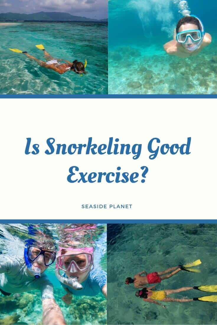 "Many people who are looking for a way to exercise while at the beach wonder ""is snorkeling good exercise?"" Today we\'re going to examine the issue and let you know! #BeachLife #Beach #Snorkeling"