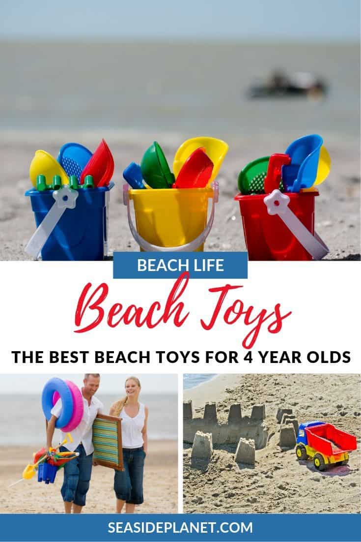 If you are taking your four year old to the beach, then you already know that you are going to have to plan activities so that they are not only entertained, but also safe. To help, we\'ve highlighted some great beach toys for 4 year olds. #beachvacation #beachvacationwithkids
