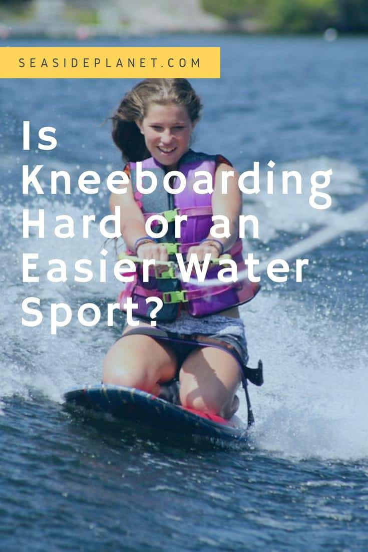 Getting out onto the water is a lot of fun, but if you haven't ever spent time enjoying a water sport, then you may find being on a board a little daunting. #BeachLife #Beach #Kneeboarding #OceanLove