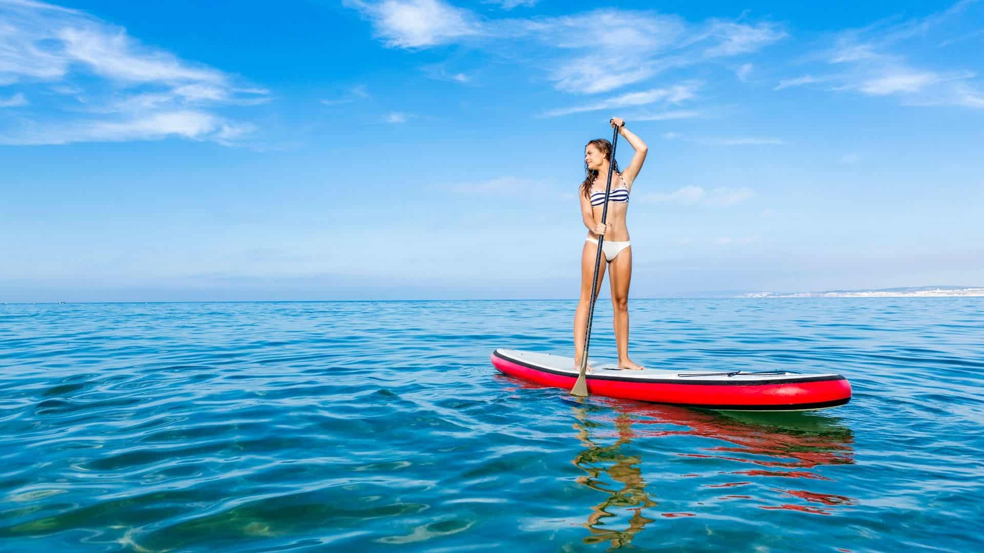 how hard is paddleboarding