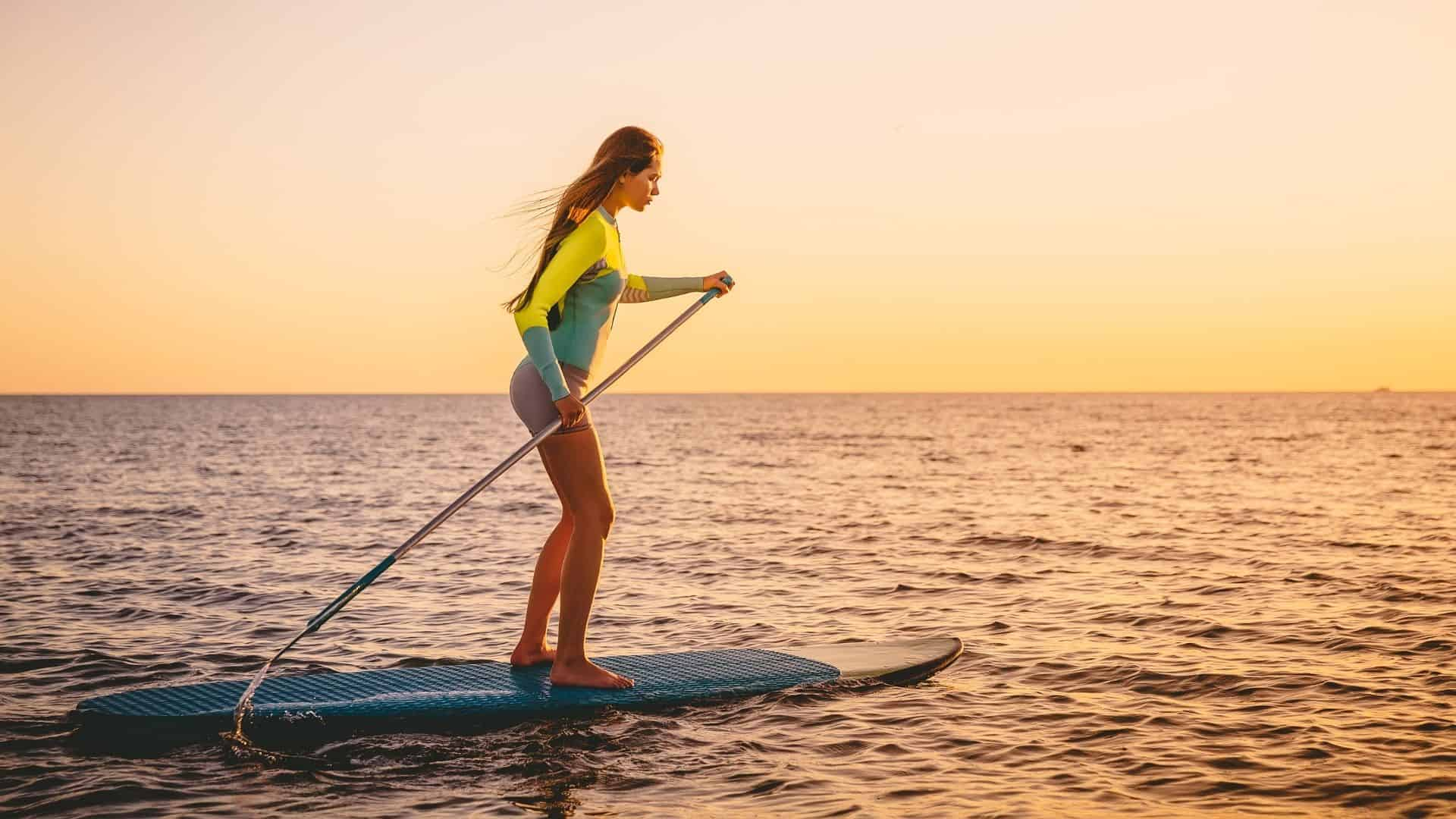 is paddleboarding a good workout
