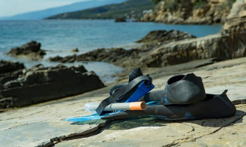snorkeling exercise gear