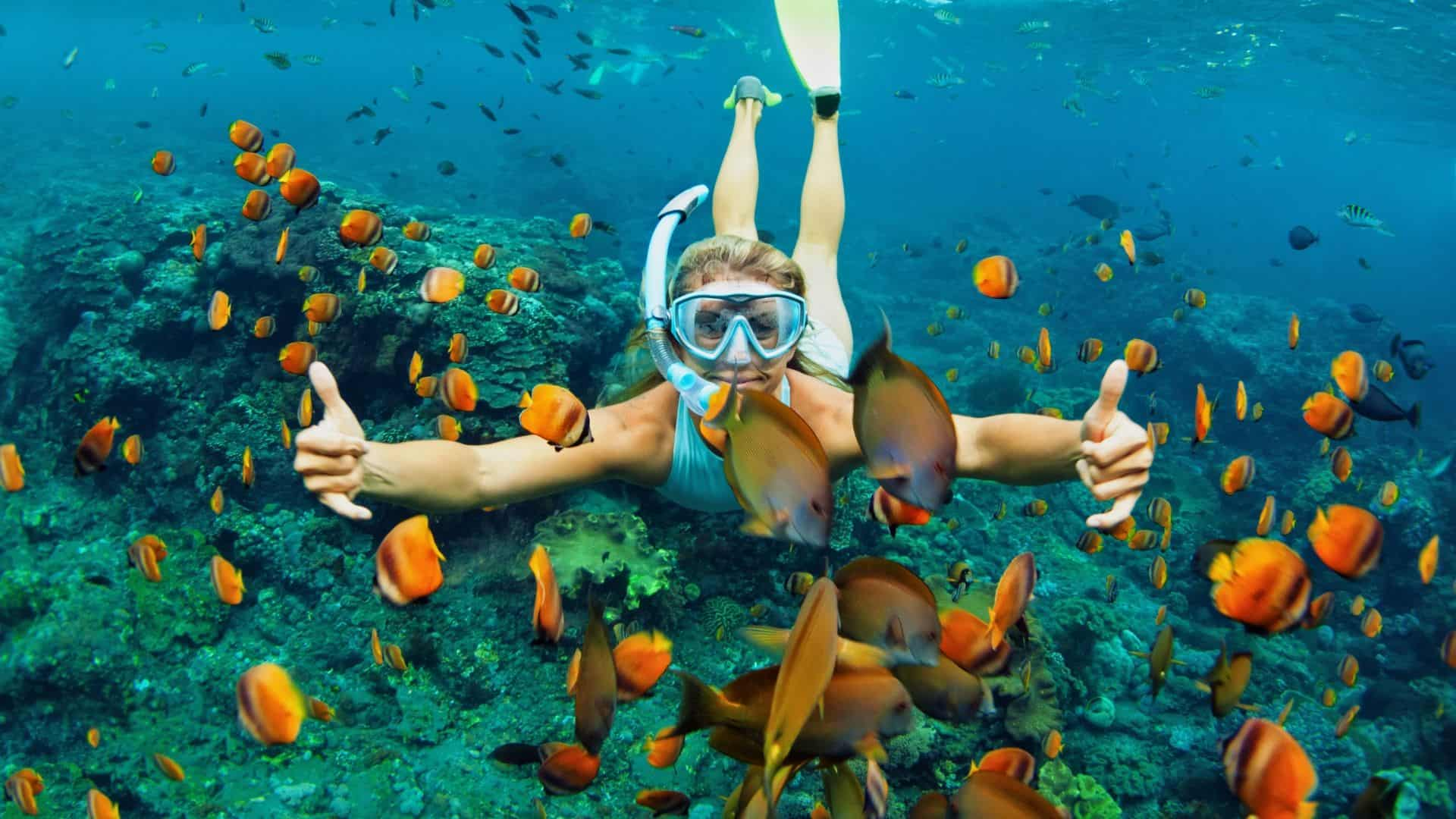 is snorkeling good exercise