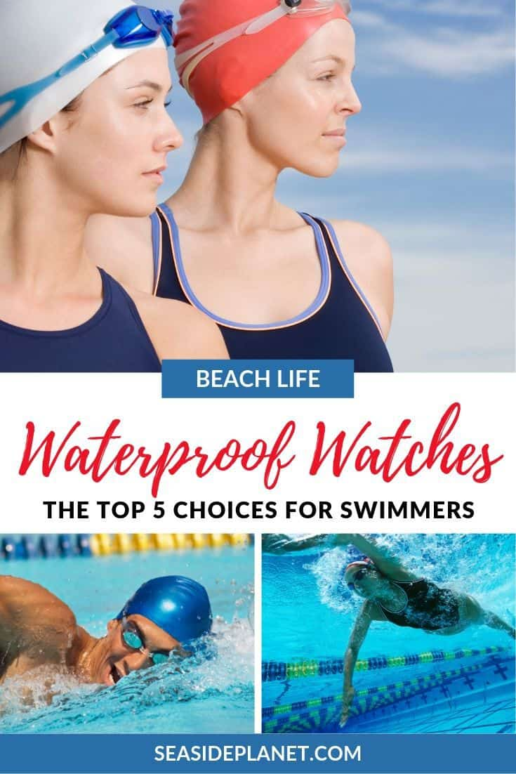 To help you with choosing the best waterproof watches for swimmers, just take a look at the options on this list! Each has a great deal to offer a great set of features.