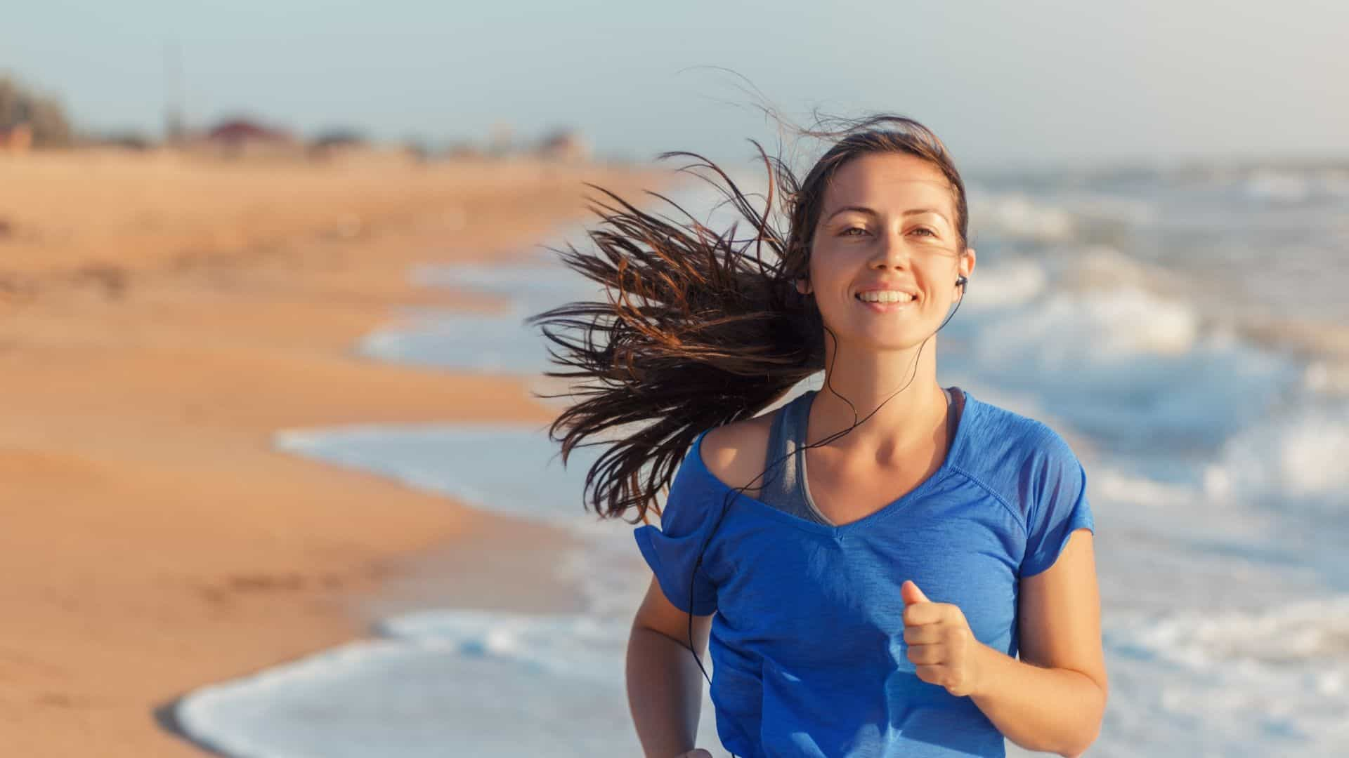 Improve Your Health by Running on the Beach