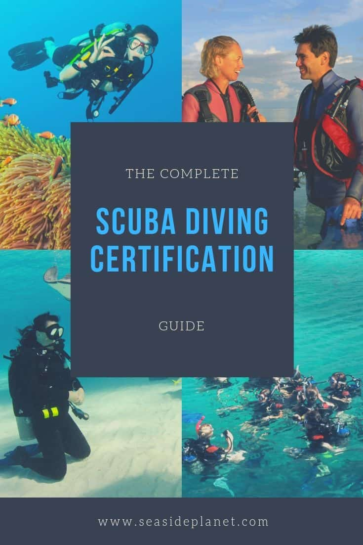 Wondering how to get scuba certified? We\'ve got you covered. Click here and start learning about what it takes to begin your dive adventure! #scubadiving #scubadivingtraining