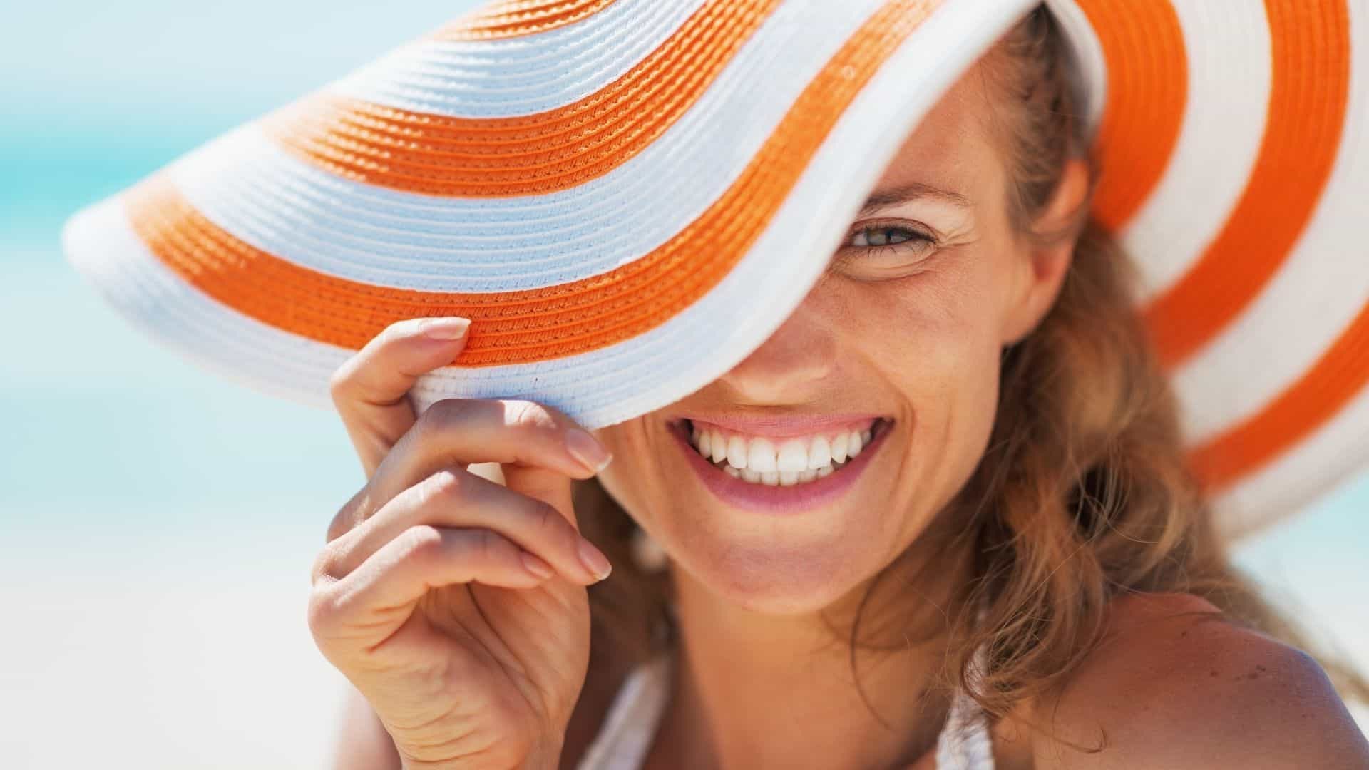 how to look good at the beach
