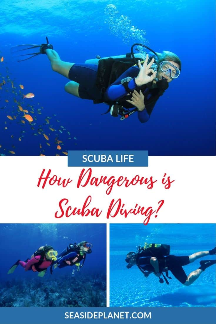 Are you wondering how dangerous is scuba diving? Then you\'ve come to the right place because we\'ve got the FACTS about this popular sport.