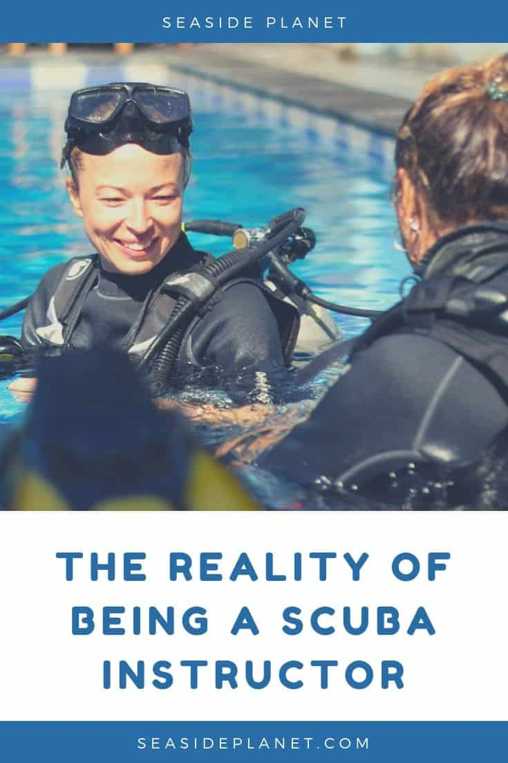 The Reality Of Being A Scuba Instructor