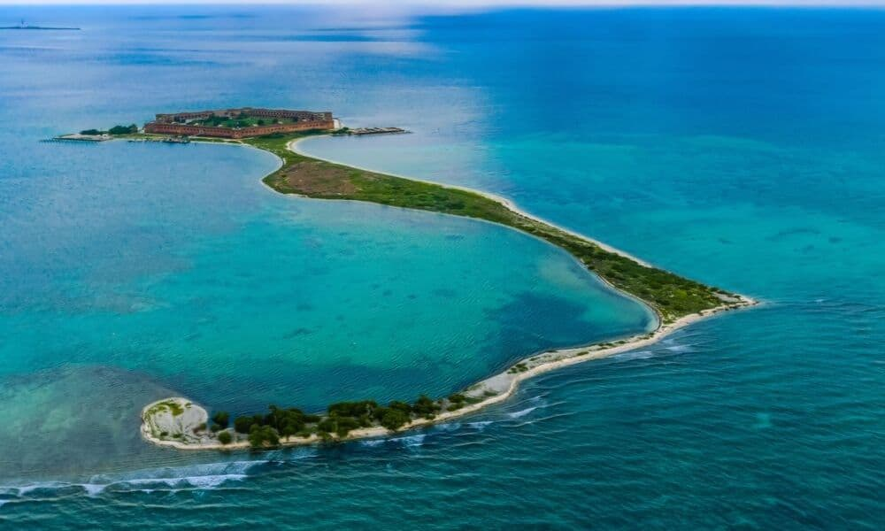 fort jefferson in dry tortugas