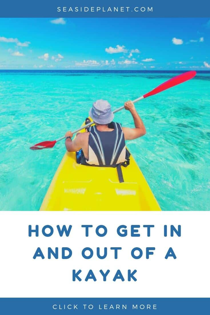 """How to get in and out of a Kayak gracefully when your """"yaking"""" (slang for kayaking) can be an adventure.  Depending on your launch and landing points here are some techniques to help you safely enter and exit your kayak."""