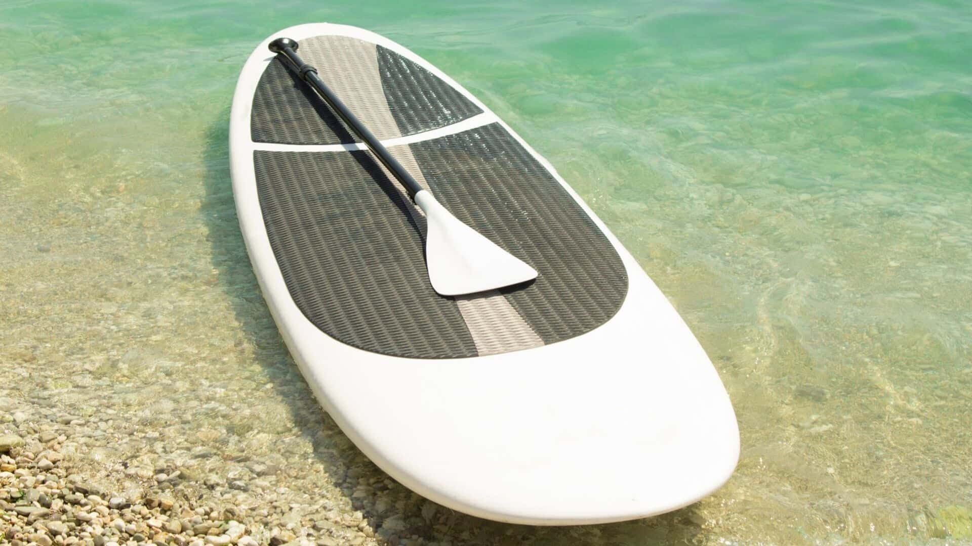 how to store paddle board