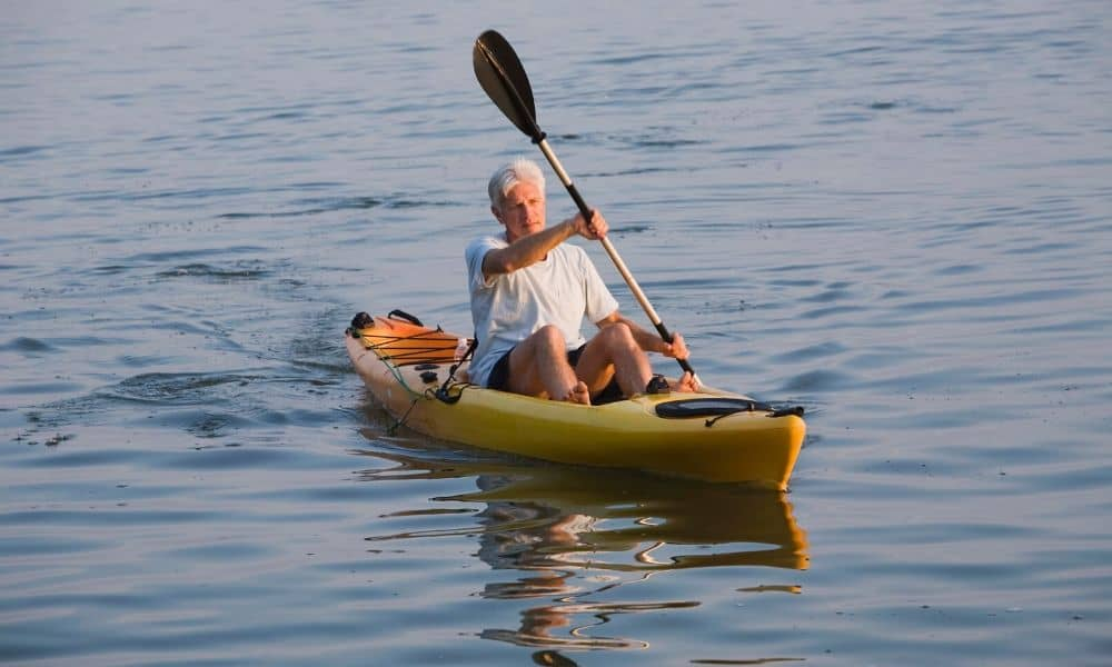 sit on-top kayak