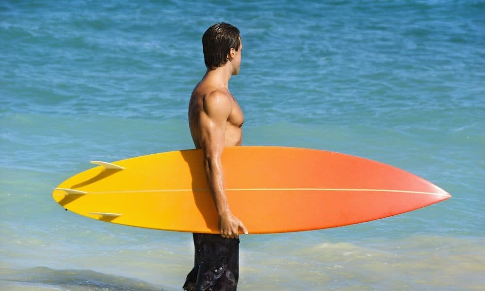 Surfer in Mexico