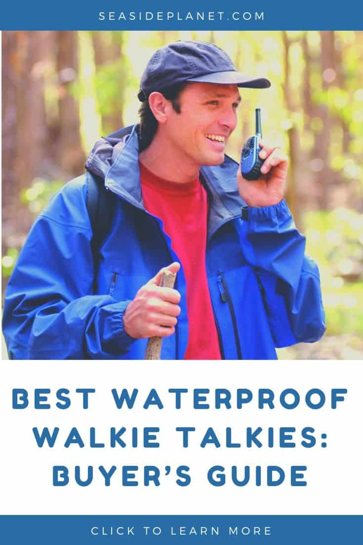 Best Waterproof Walkie Talkies in 2021: Buyer's Guide